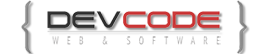 DevCode – Web & Software Logo